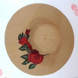 Accessories - NWOT Floral Sunhat